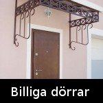 Billiga dörrar